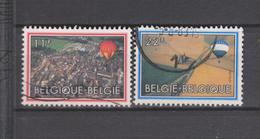 COB 2094 / 2095 Oblitéré Ballon Montgolfière
