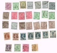 India George V, Queen Victoria, India Edward VII , India Postage Stamp - Inde