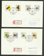 GERMANY - BERLIN / Set 2 Lettres - Covers FDC