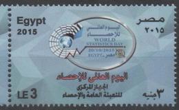 EGYPT, 2015, MNH, WORLD STATISTICS DAY,1v