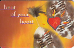 SOUTH AFRICA(chip) - Music 2/Beat Of Yout Heart 1, Telkom Telecard, Exp.date 12/99, Used