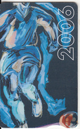 SOUTH AFRICA(chip) - Football Player(blue), Telkom Telecard R20, Chip GEM3.3, Exp.date 06/09, Used