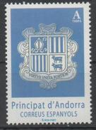 ANDORRA, 2017, MNH, COAT OF ARMS, 1v - Stamps