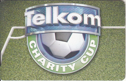 SOUTH AFRICA(chip) - Telkom Charity Cup, Telkom Telecard R20, Chip GEM3.3, Exp.date 08/11, Used