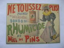 Rhumicide - Advertising