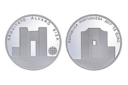"""PORTUGAL 7,50€   2.017  2017  """"ARQUITETO ALVARO SIZA""""  CU-NI  SC/UNC   T-DL-12.116 - Portugal"""