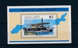[50891] Malawi 1994 Ship Boat MNH Sheet