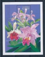 [51329] Zambia 1999 Flowers Orchids MNH Sheet