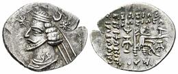 GRECIA ANTIGUA  Imperio Parto. Orodes II. Dracma. 57-38 A.C. Partia. Ag.Plata/Silver  MBC   DL-12.119 - Griegas