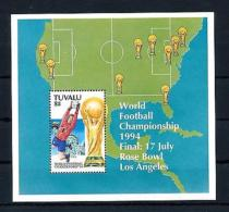 [59610] Tuvalu 1994 World Cup Soccer Football USA Statue Of Liberty MNH Sheet