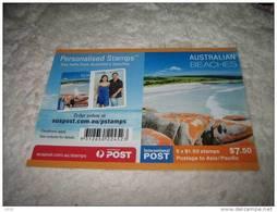 Australia 2010 Booklet Beaches MNH - 2010-... Elizabeth II