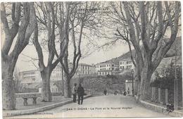 DIGNE - 04 - Le Pont Et Le Nouvel Hopital - RARE - ORL - - Digne