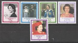 ZES Seychelles 1986 60th Birthday Of Queen Elizabeth II MNH CV £1.90