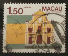 MACAO 1983 Buildings. USADO - USED. - Usados