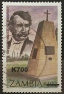 ZAMBIA 2000 National Monuments Issue Of 1996 Surcharged. USADO - USED. - Zambia (1965-...)