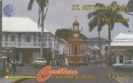 STKITTS : Dummy THE CIRCUS  NO CONTROL ON WHITE STRIP - St. Kitts & Nevis