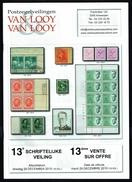 Maison VAN LOOY -  13 E Vente - Anvers - Décembre 2015. - Catalogues De Maisons De Vente