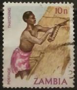ZAMBIA 1981 Traditional Living. USADO - USED. - Zambia (1965-...)