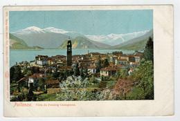 C. P.  PICCOLA    PALLANZA (VB)   VISTA  DA  PENSION  CASTAGNOLA      2 SCAN  (NUOVA) - Italia
