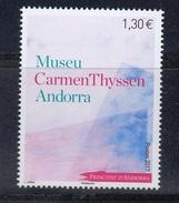 FRENCH ANDORRA 2017 Museum Carmen Thyssen