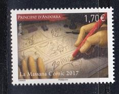 FRENCH ANDORRA 2017 La Massana Comic 2017