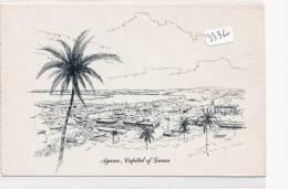 CPM GF  - Guam - Agana - Dessin Vue Générale - Guam
