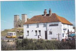 Reculver: BEDFORD CF 'ICE-CREAM' VAN - King Ethelbertand Towers  - (Kent, England) - Toerisme