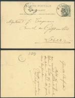 AO464 Entier De Moll à Lierre 1893 - Entiers Postaux