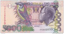 Sao Tomé & Principe - Billet De 5000 Dobras - Rei Amador - 26 Août 2004 - Neuf - Sao Tomé Et Principe
