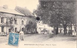 MORTEROLLES  - Place De L'Eglise - Autres Communes