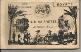 EGYPTE  Carnet De 10 Cartes  Des Soeurs Missionnaires  N.D Des Apotres  Venissieux (voir Detail)