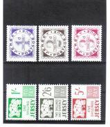 GUT663  Großbritanien JERSEY 1969  Michl 1/6 PORTO ** Postfrisch SIEHE ABBILDUNG - Jersey