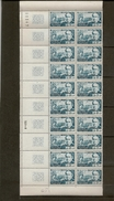 Bloc De 20 Timbres N°1624 Prosper Merimee (bord De Feuille)