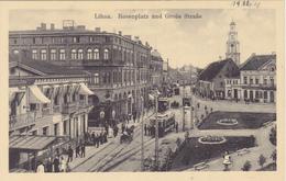 Carte Postale 1918 De Libau, Lettonie. - Lettonie