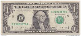 Etats-Unis D´Amérique - Billet De 1 Dollar - George Washington - Richmond E - 1985 - Federal Reserve Notes (1928-...)