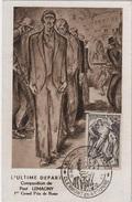 CM 40 - FRANCE Carte Maximum Résistance Journée Des Martyrs Clermont En Argonne 1947 - 1940-49