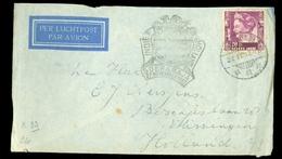 LUCHTPOST BRIEFOMSLAG Uit 1937 GELOPEN VAN SOERABAJA NEDERLANDS-INDIE Naar VLISSINGEN   (10.631o) - Niederländisch-Indien