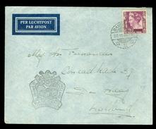 LUCHTPOST BRIEFOMSLAG Uit 1937 GELOPEN VAN SOERABAJA NEDERLANDS-INDIE Naar DEN HAAG   (10.631p) - Niederländisch-Indien