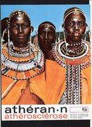3 Fiches / Publicitaire,Publicité Laboratoires SOBIO / Tribu Des Massaï,Kikuyu Et Embu ( Kenia Ou Kenya) - Publicités