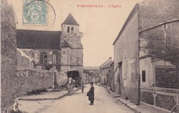PORCHEVILLE L'EGLISE (dil185) - Porcheville
