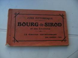 Bourg De Sirod Jura Carnet 12 Cartes Edi Karrer - Andere Gemeenten