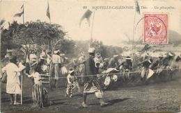 NOUVELLE CALEDONIE - Thio, Un Pilou-pilou.. - Nouvelle Calédonie