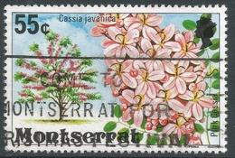 Montserrat. 1976 Flowering Trees. 55c Used. SG 380