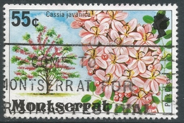 Montserrat. 1976 Flowering Trees. 55c Used. SG 380 - Montserrat