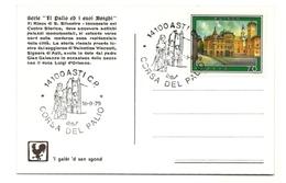 1979 - Italia - Cartolina Commemorativa Del Palio Di Asti 1/27 - Buste