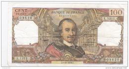 France - Billet De 100 Francs Type Corneille - 5 Octobre 1978 - 100 F 1964-1979 ''Corneille''