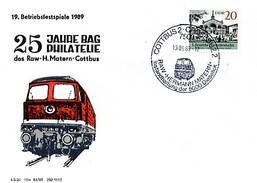 GS 25 J. Eisenbahnerphilatelisten Im RAW Cottbus - Trains