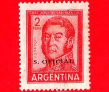ARGENTINA - Usato - 1961 - Generale José Francisco De San Martín (1778-1850) - 2 - S. Oficial - Servizio
