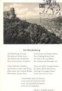 POSTAL    ALT HEIDELBERG     -VIKTOR V. SCHEFFEL 1826-0886 - Postales