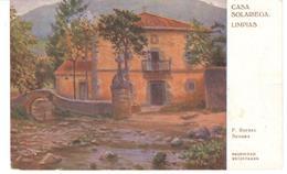 POSTAL    CASA SOLARIEGA -LIMPIAS ( F.RAFAEL SEGURA ) - Postales